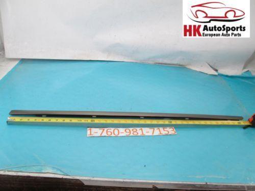 MERCEDES BENZ C320 SEDAN REAR LEFT DRIVER EXTERIOR DOOR WINDOW TRIM MOLDING 2002