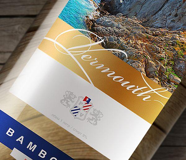 bomboleo on Behance Label design vermouth bomboleo