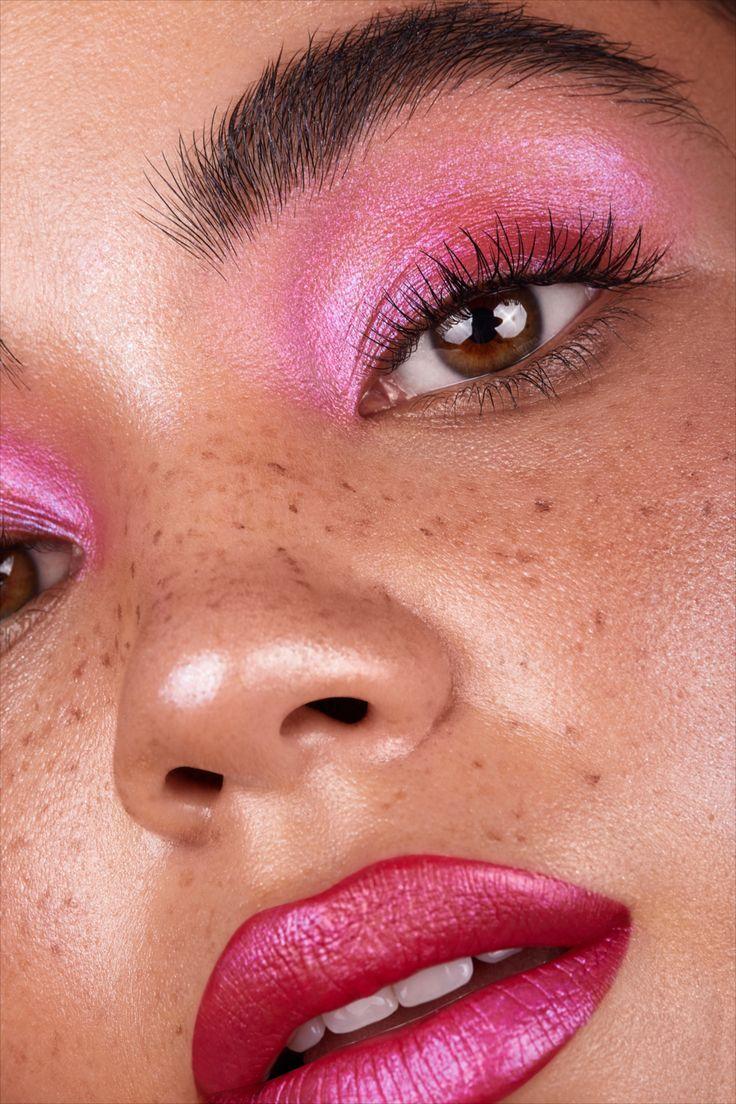 pink make up look in 2020 Pink makeup, Aesthetic makeup