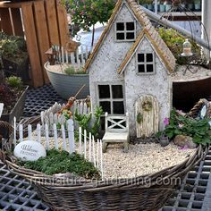 Welcome To The Cottage: #fairyhouses