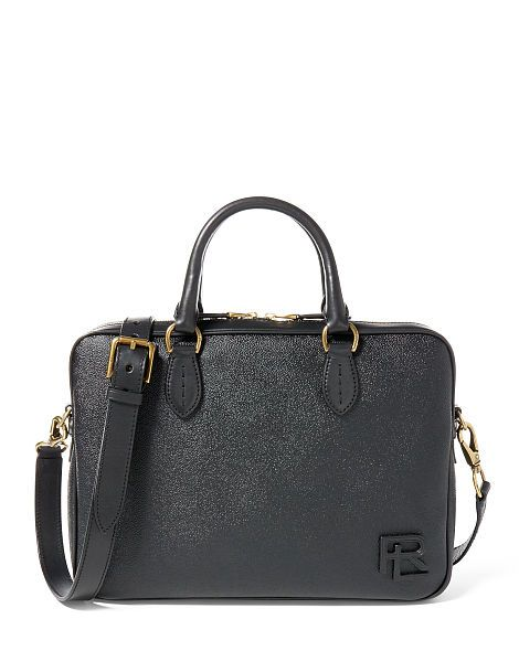 Coated Canvas Briefcase - Ralph Lauren Briefcases & Portfolios - RalphLauren.com