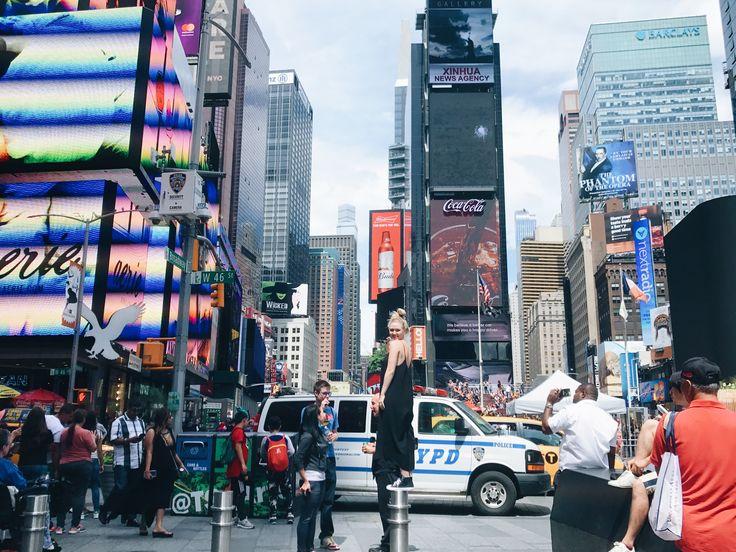 New York City time square  Keren Swanson
