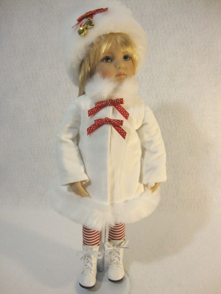 """OOAK HOLIDAY OUTFIT FOR 13"""" EFFNER LITTLE DARLINGS DOLL"""