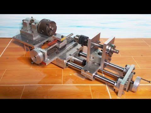 Home Made Cheap Mini Lathe Slide CNC - All