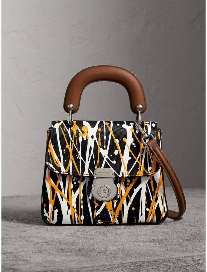 0294b4621560 Burberry The Small DK88 Splash Top Handle Bag