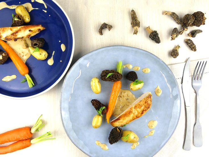 Recette : poulet au vin jaune et aux morilles ! Savoureux et facile à réaliser !
