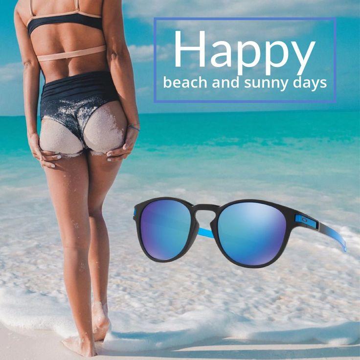 Momentos playeros para desconectar y relajarse. Porque tú te lo mereces. Y recuerda meter tus gafas de sol en la mochila de la playa! |Gafas de sol Oakley| #beach #summer #sunnydays #glasses #sunglasses #holidays #eyewear #playa #verano
