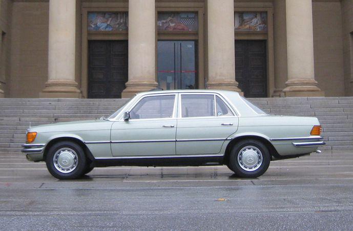 1975 Mercedes 280 SE European Model « The Motoring Enthusiast
