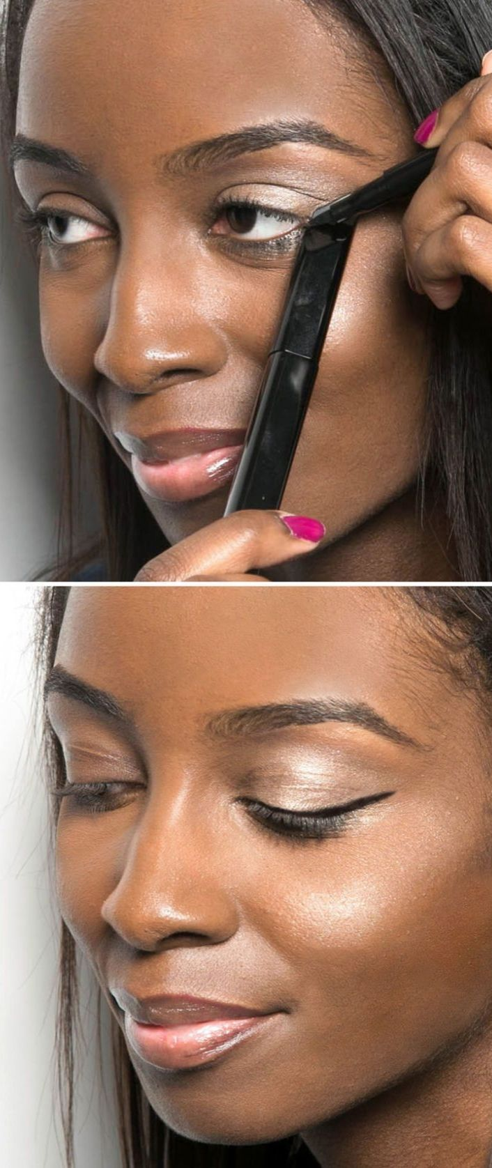How To Contour Like A Pro Best 25+ Cat Eye Stencil Ideas On Pinterest  Eyeliner Stencil, Cat Eyeliner Stencil And