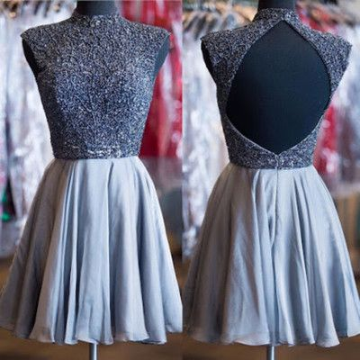 Beautiful Backless Homecoming Dress,Short Prom Dresses,Cocktail Dress,Homecoming Dress,Graduation Dress,Party Dress For Teens