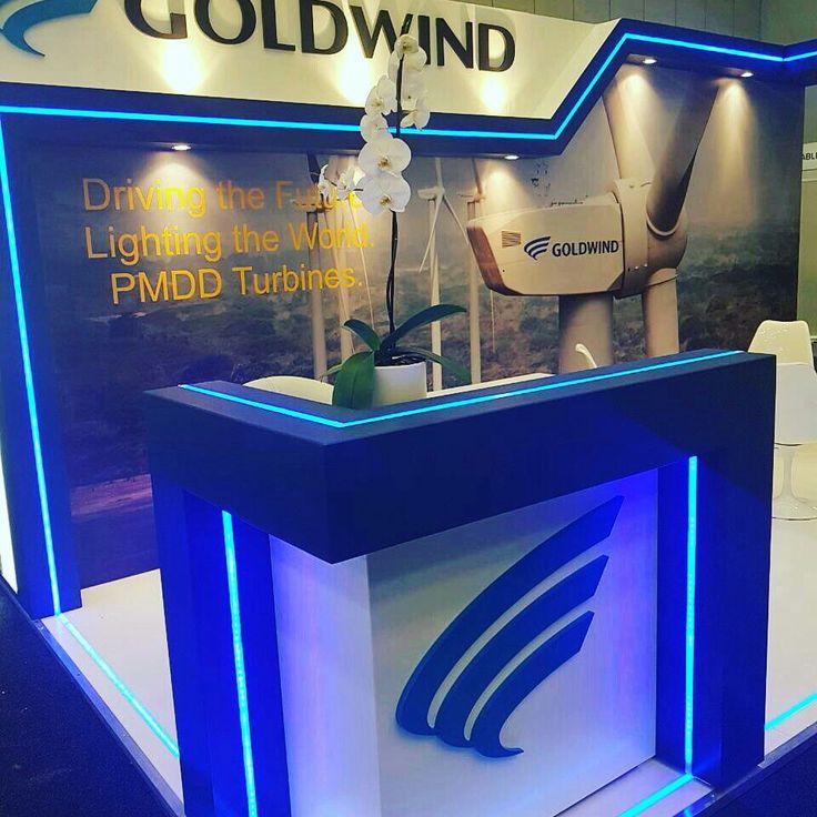 Custom Exhibition stand Wind energy