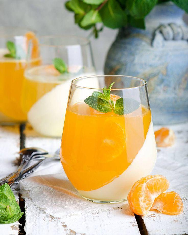 рецепт панна котта с апельсиновым соком фото платье очень