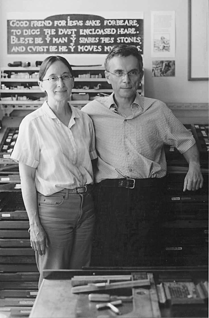 MARGARET and FRED LOCK are the founders of Locks' Press, which prints mainly illustrated editions of unusual but enduring texts.
