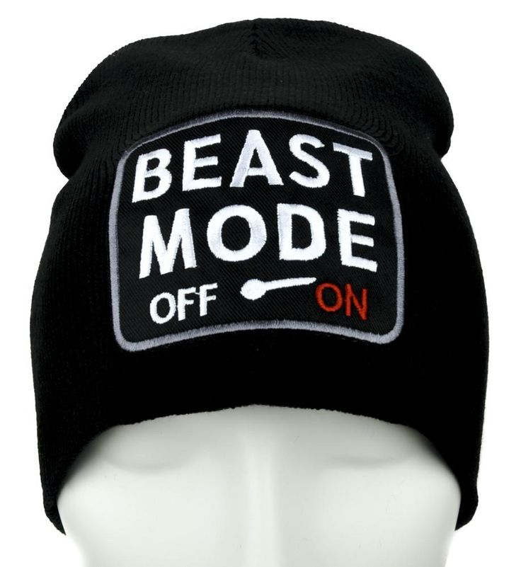 Beast Mode On Gamer Beanie Alternative Clothing Knit Cap …  #hat #deathrock #cosplay #baseballcap #anime