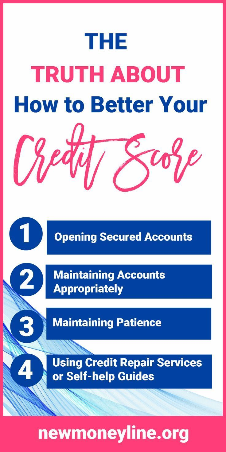 The Truth About How To Better Your Credit Score Everyone That Is Looking For A Little Financing Is Looking To Im Good Credit Credit Score Improve Credit Score