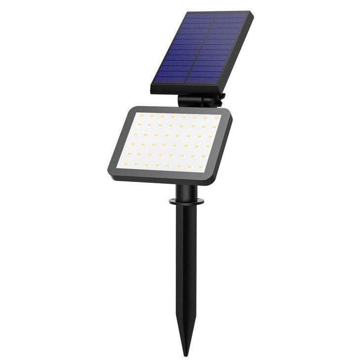 Coutlet Solar Light,Outdoor Landscape Garden Spotlight Auto On/Off Security Night Lights
