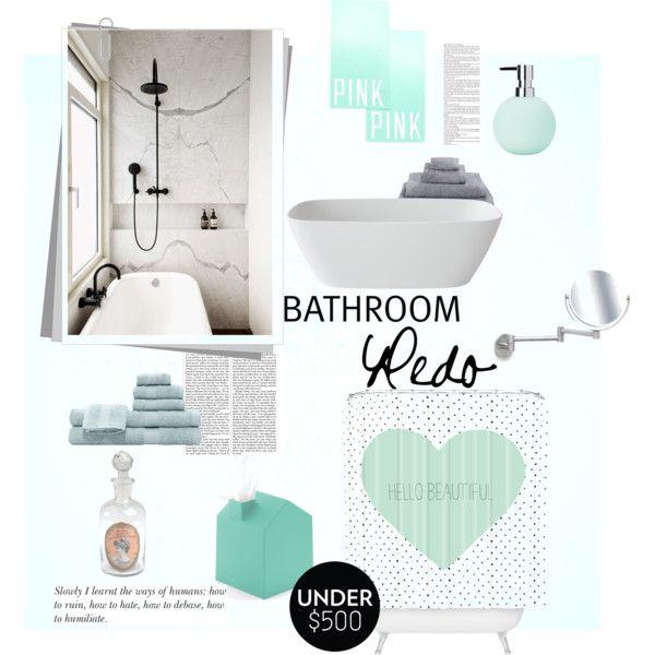 """Bathroom redo"" by gelykou on Polyvore"