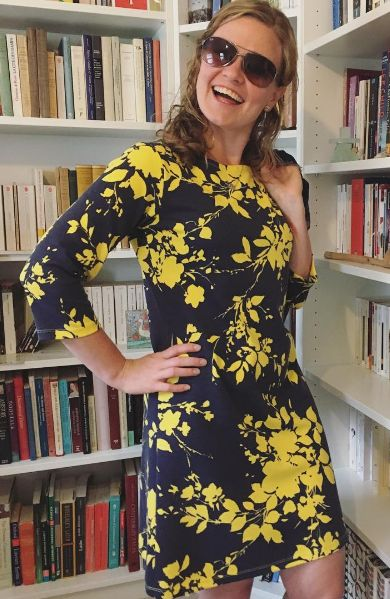 Charlotte's Coco dress - sewing pattern by Tilly and the Buttons