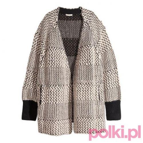 Oversize'owy kardigan H&M #polkipl
