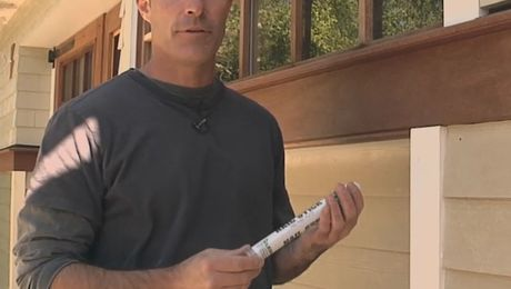 How To Fill Nail Holes and Paint PVC Trim
