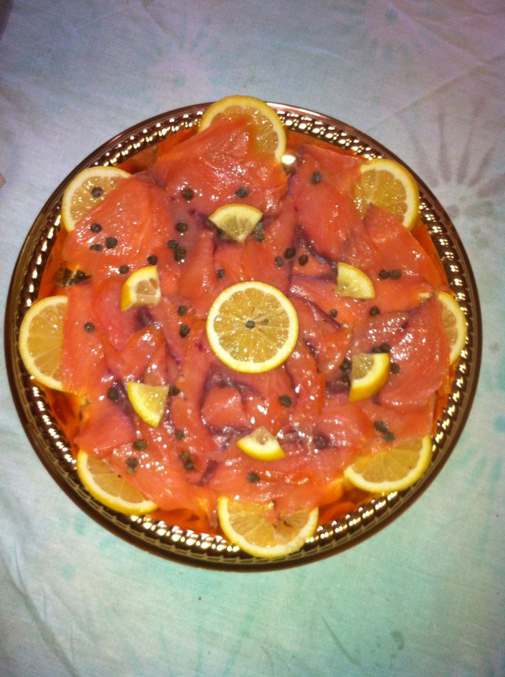 #salmone #capperi #limone #lemon #fish #salmon