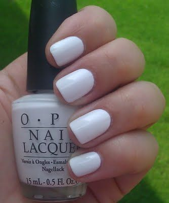 OPI Alpine Snow #teamKS #kendrascott claire - did you mean this white?