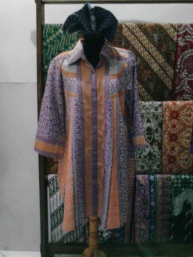 new batik blouse...