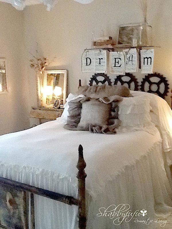 Idea for making this bedspread found really
