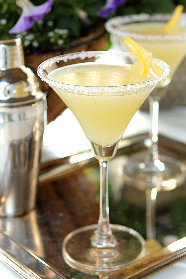 The Best Lemon Drop Martini…has Vanilla Bean! from @CreativCulinary