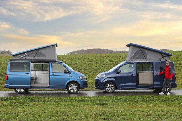 Drei Kompakte Campingbusse Im Vergleichstest Campster Gegen