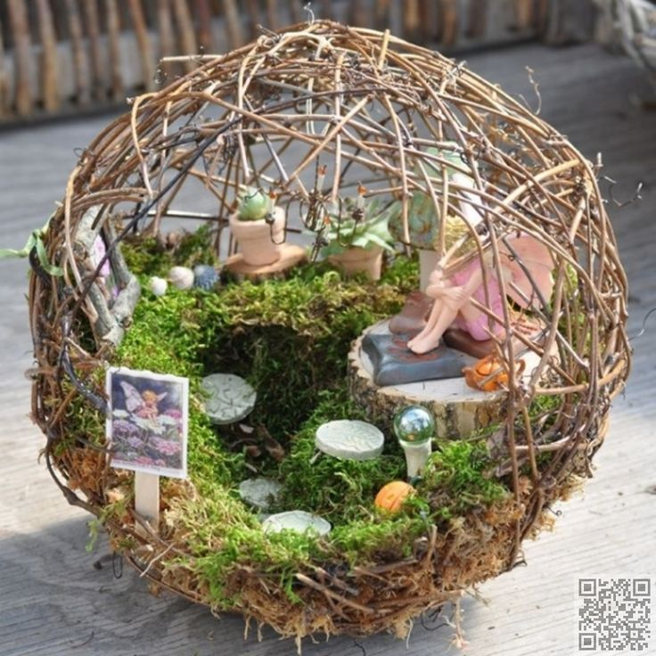 28. #Totally Unique - 48 #Fantastic Fairy #Gardens for Your Yard ...