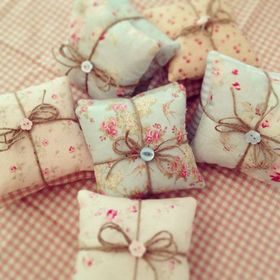 Shabby Chic/Vintage Style Scented Mini Pillows by BetsyBlairHome, £4.00