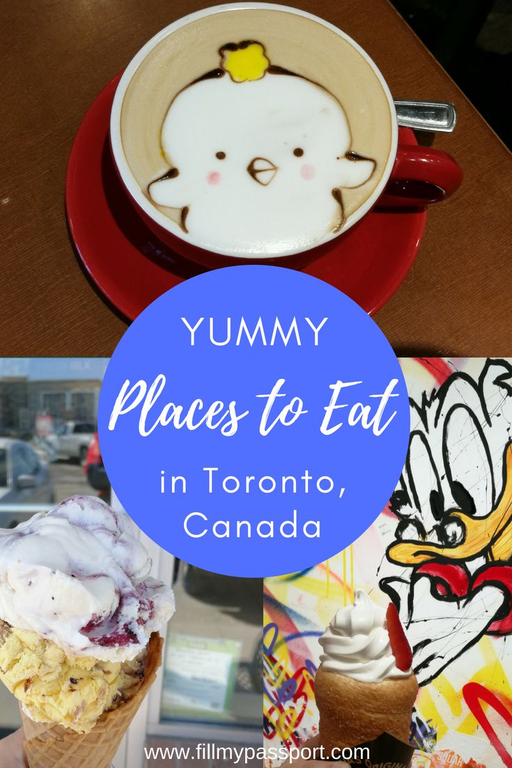 As we explore more of the culinary side of T Dot, we have found 10 more delicious spots that you seriously cannot miss and must add to your Toronto foodie tour with a bonus spot on the outskirts. #torontofoodie #torontotravel #torontocanada #foodiemusts #latteart #chocolateeclairs #ultimatefoodie