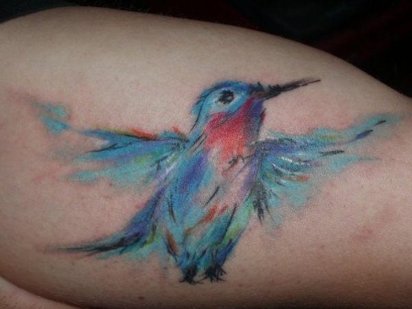 1000+ images about Watercolor Tattoo on Pinterest | Watercolors, Bird tattoos and Abstract tattoos