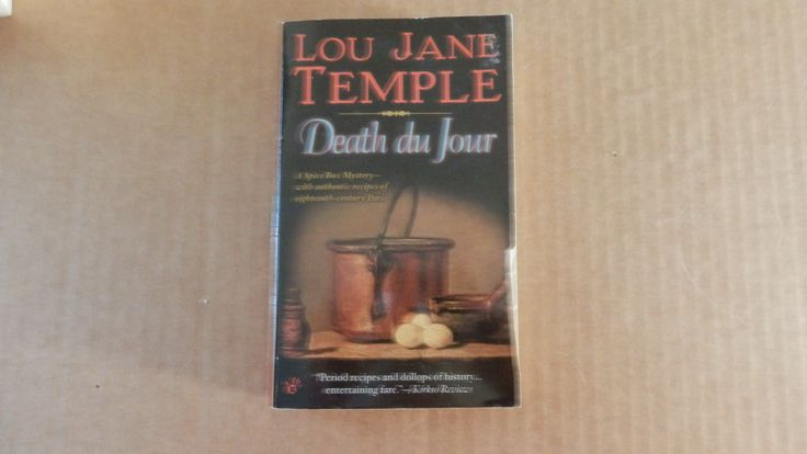 Death Du Jour By Lou Jane Temple A Spice Box Mystery 2