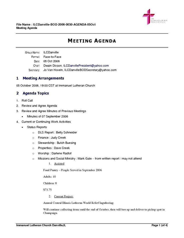 business letter format quiz sample vocabulary personal documents - sample meeting agenda