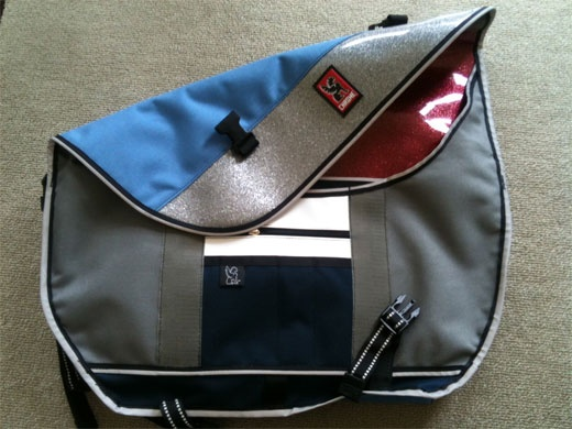 oooh, custom Chrome bags