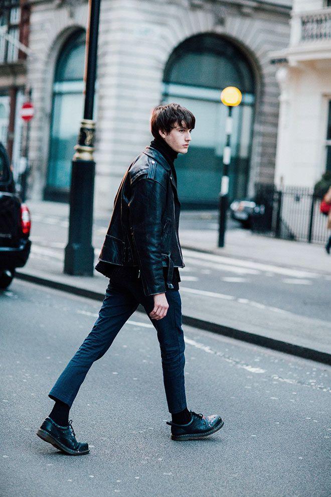Street looks à la Fashion Week homme à Londres