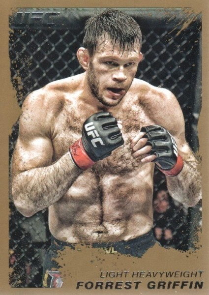 Forrest Griffin Fantasy Package UFC MMA | not a pretty fighter in sense of style but thanks for the memories brother