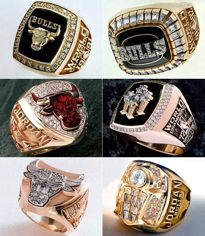 Chicago Bulls Rings (':