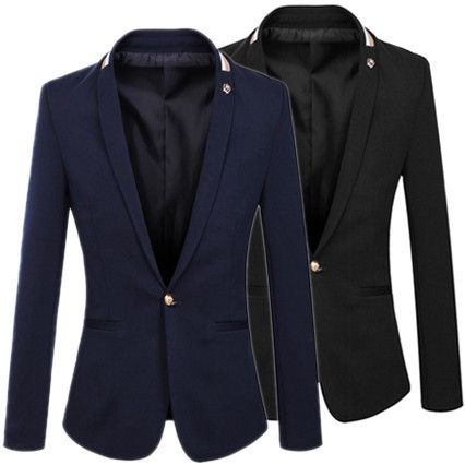 Slim Fit Modern Design Men Fashion Blazer . Shop Now At  http://sneakoutfitters.com/collections/new-in/products/slim-fit-modern-design-men-fashion-blazer-g53eb5f40a9af8f015