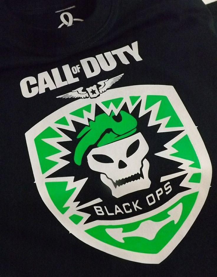 Call of Duty  / tshirt / remera / franela