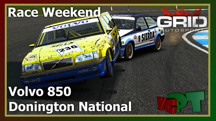 Grid Autosport - Race Weekend - Volvo 850 - Donington National