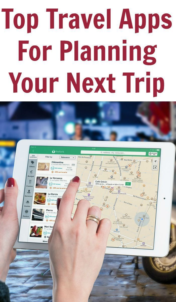 Top Travel Apps For Planning Your Next Trip   Travel Tips