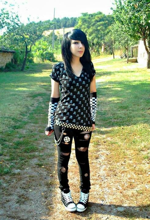 emo girl black hair emos pinterest emo girls