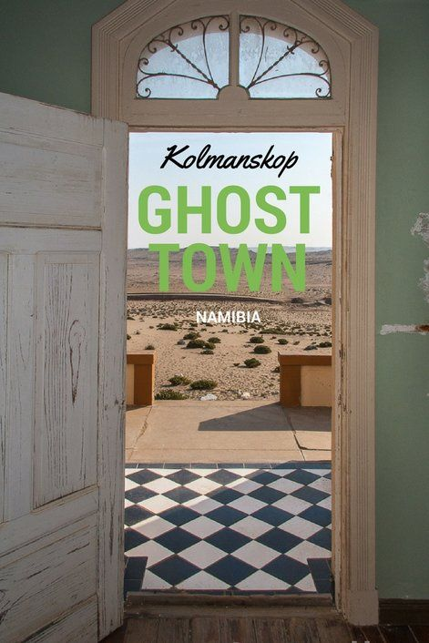 Once a diamond boom town, Kolmanskop in Namibia is now a ghost town where past and present with haunting magnetism.