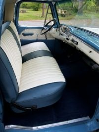 Custom Bench Seat Upholstery Wagoneer 1966 Ford F100