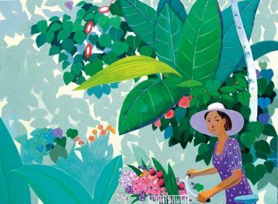 garden-flower rode/Lee John-lip - ARTMUSEE::KOREAN ARTISTS' ART SHOPPINGMALL