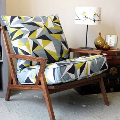 """""""lorna syson's bradbury print is a fabulous contemporary design available on cushions, wallpapers, fabrics by the meter, and lampshades"""""""