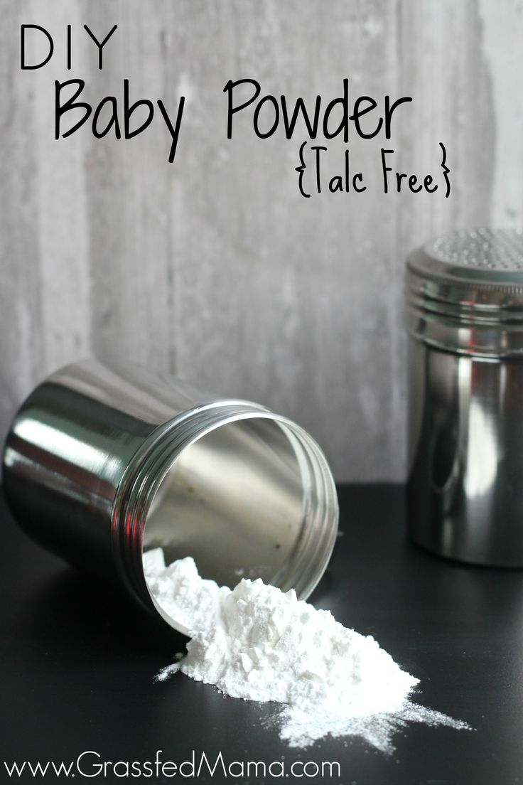 Do you know what's in your Baby Powder? DIY Baby Powder {Talc Free} Easy to make and healthier too! - Grassfed Mama